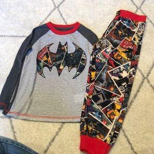 Batman Boys Pajamas Size XS 4/5